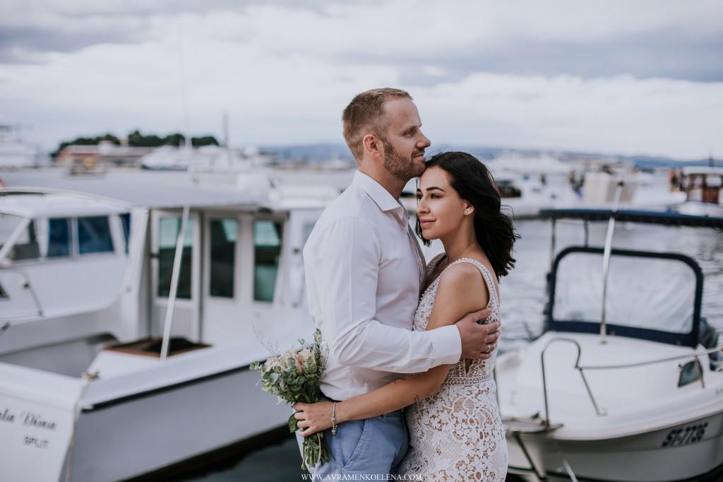 Свадебный фотограф в Хорватии: Сплит, Хвар, Задар